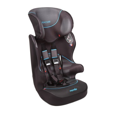 Детское автокресло Nania 876075 Racer SP First Graphic I-Tech Black gray blue